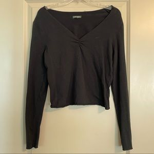 Black long sleeve Wild Fable top